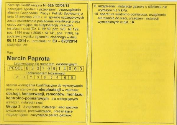 Marcin-Paprota-uprawnienia-gazowe-1
