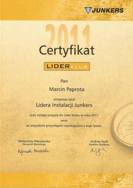 lider-instalacji-JUNKERS-2011-Marcin-Papota