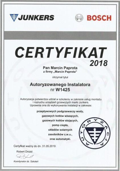 certyfikat-2018-Marcin-Paprota