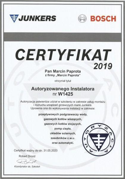certyfikat-2019-Marcin-Paprota